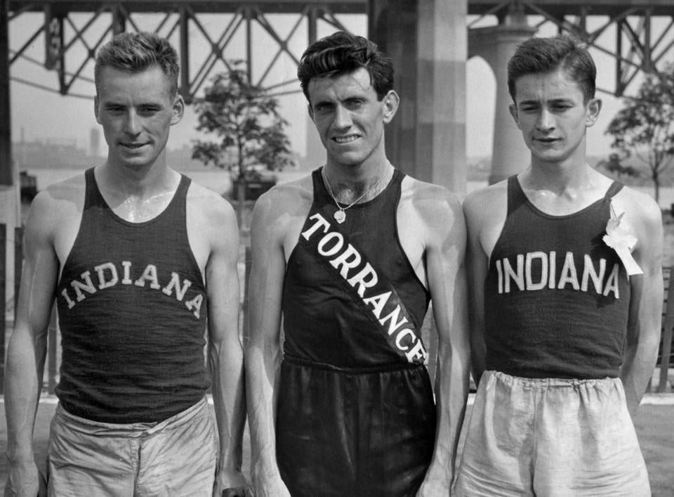 "Mr. Zamperini was known as the ""Torrance Tornado."""